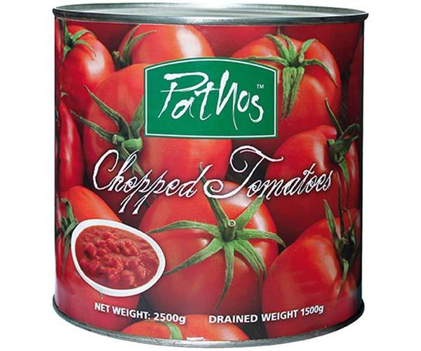 Chopped Tomato Tins - 1x2.5kg