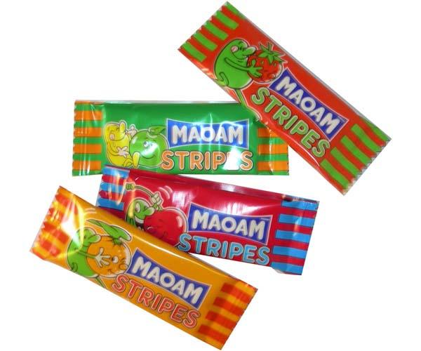 Maoam Stripes Chews 1x120 Tub