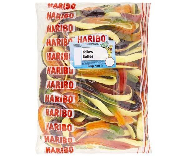 Haribo Giant Snakes  x 3kg Bag