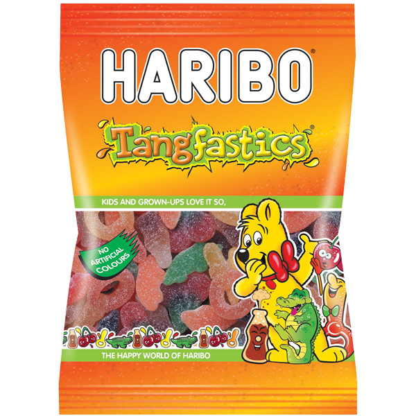 Haribo Grab Bags - Tangfastics - 12x140g