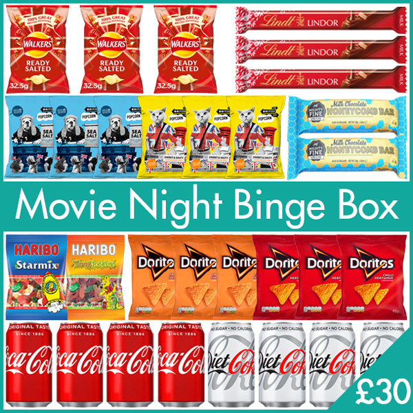 Movie Night Binge Box