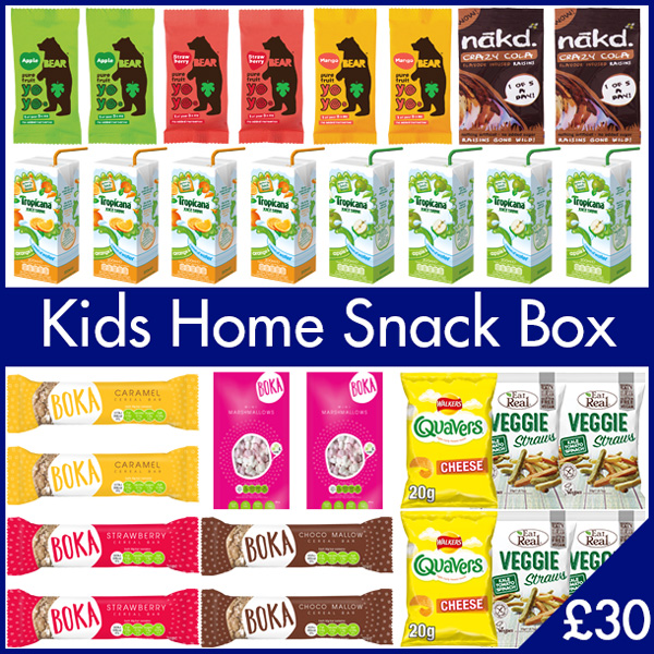 Kids Home Snack Box