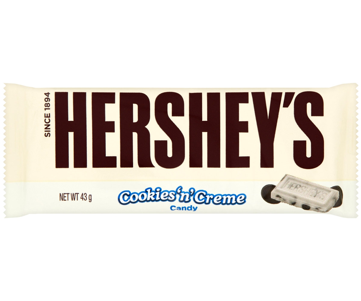 Hershey's - Cookies & Cream - 24x40g