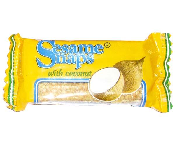 Sesame Snaps - Coconut - 24x30g