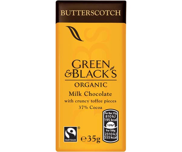Green & Blacks - Butterscotch - 30x35g