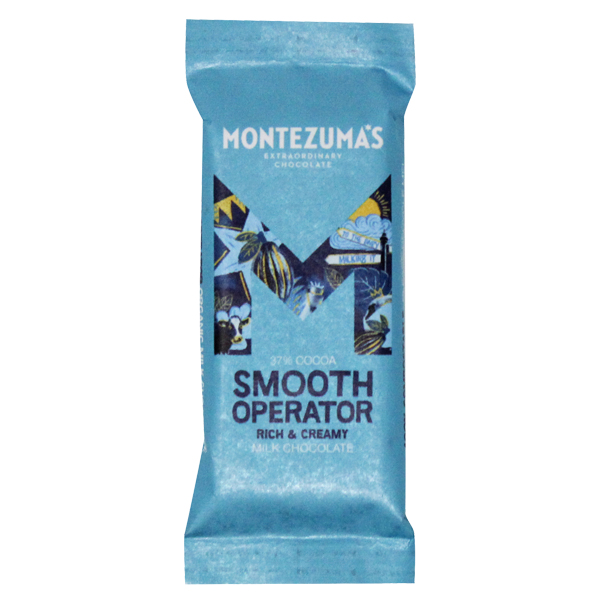 Montezumas - Smooth Operator - Organic Milk Chocolate - 26x25g