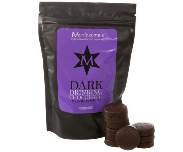 Montezumas - Drinking Chocolate Discs Dark - 1x1.5kg