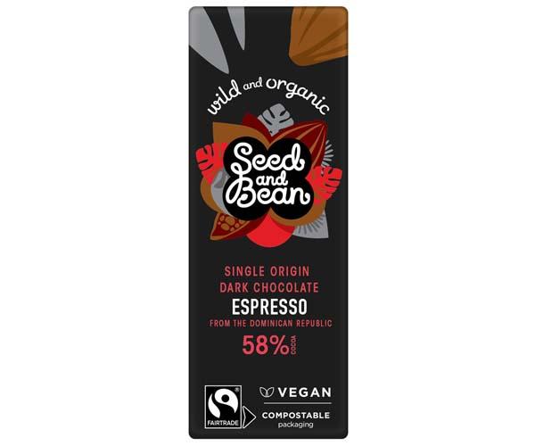 Seed & Bean Org F/T - Dark 58% Expresso - 30x25g