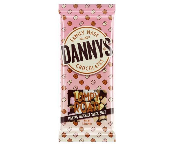 Danny'S Chocolate - Lumpy Road - 15x40g