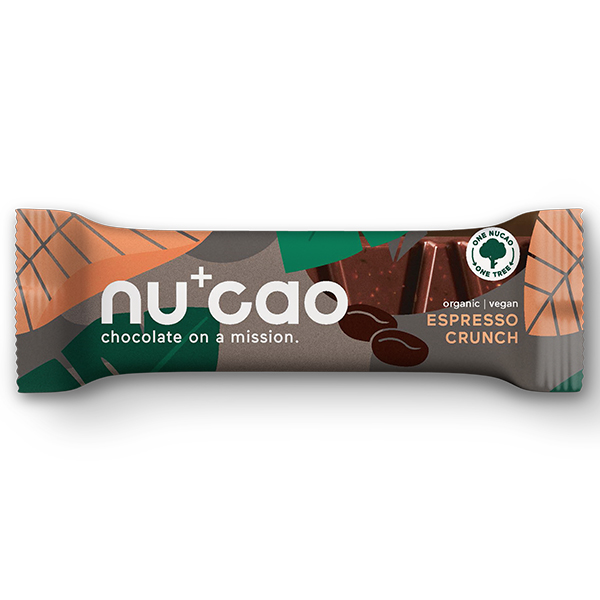 Nucao - Espresso Crunch - 12x40g