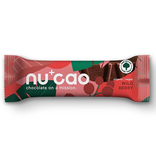 Nucao - Wild Berry - 12x40g