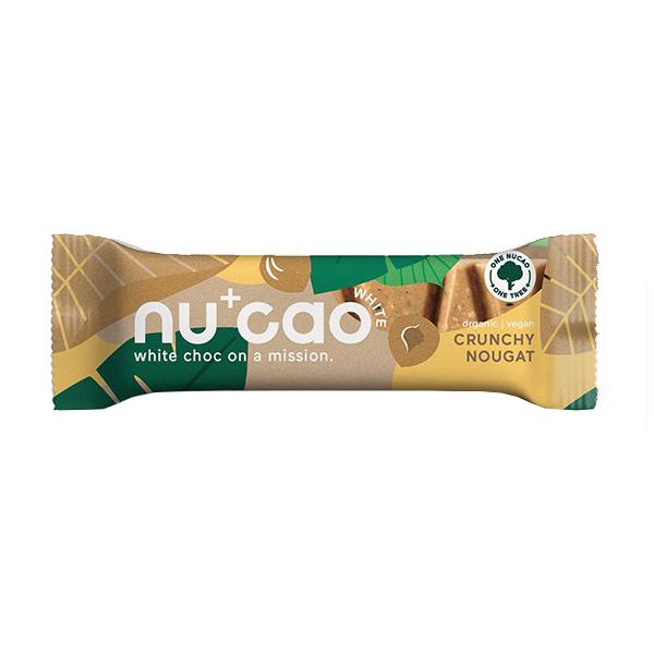 Nucao - Vegan - White Crunchy Nougat - 12x40g