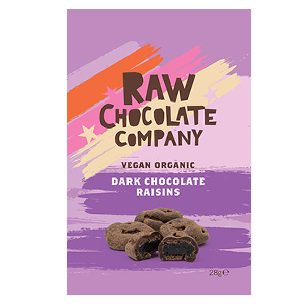 The Raw Chocolate Co - Chocolate Raisins - 12x28g
