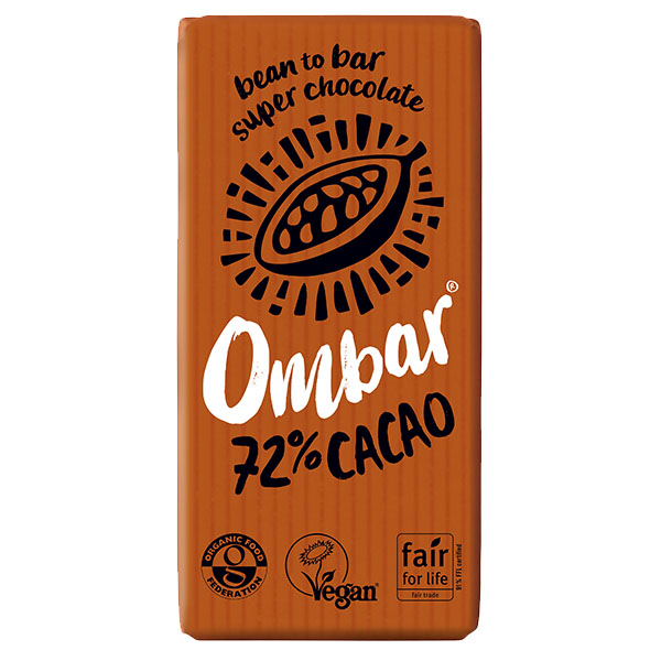 Ombar - Raw Chocolate - Dark - 10x35g