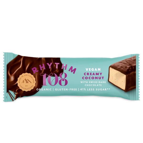 108 Foods - Swiss Choco Bar - Super Coconut - 15x33G