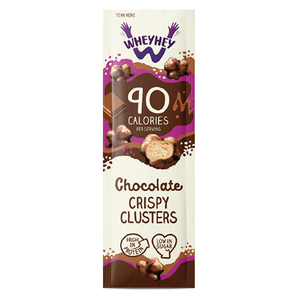 Wheyhey - Chocolate Clusters - 16x20g