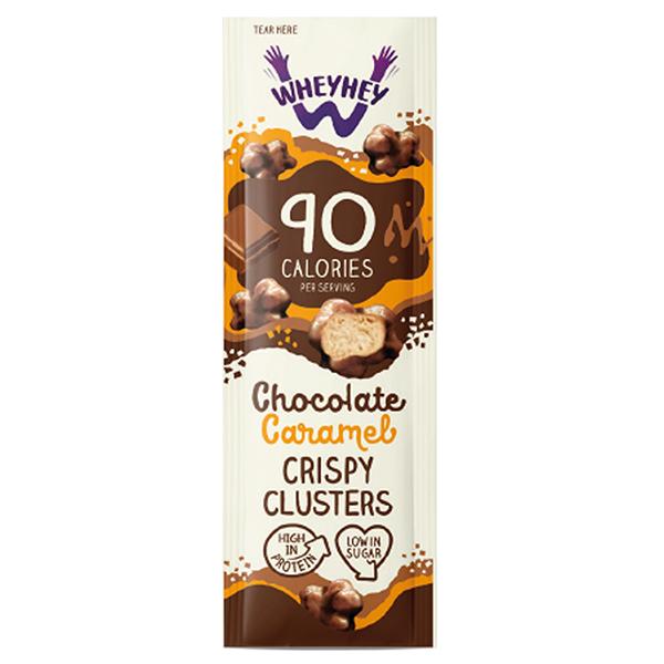 Wheyhey - Caramel Clusters - 16x20g
