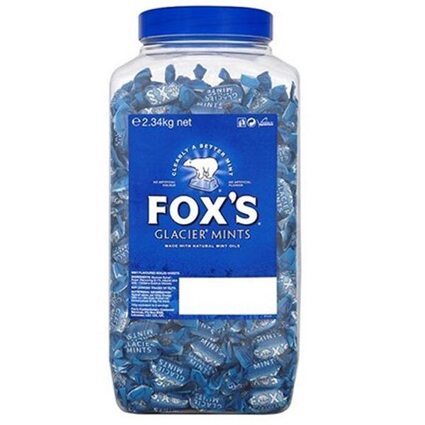 Foxs Glacier Mints - 1x1.7kg JAR