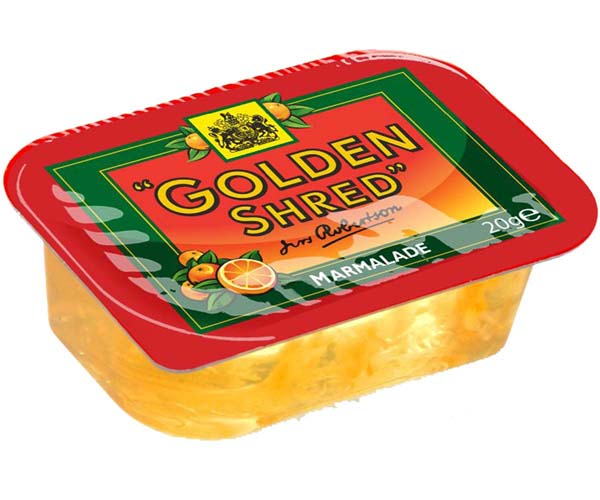 Robertsons - Gold Shred Marmalade - 100x20g