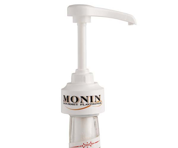 Monin - Charged Syrup Pump Glass Bottles - 10ml