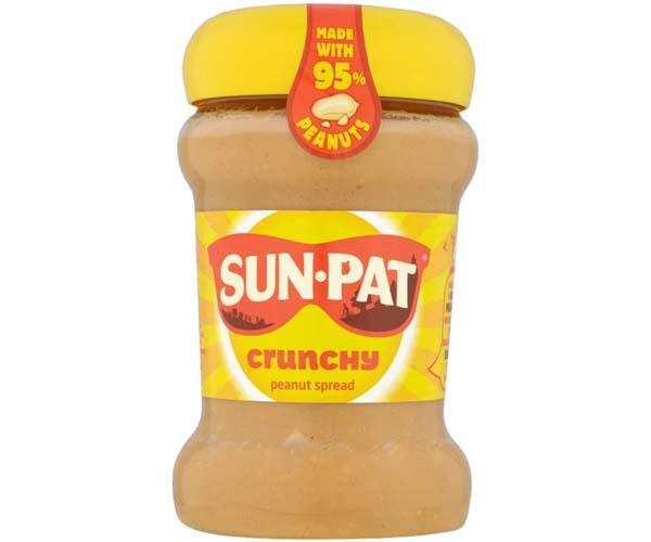 Sun Pat - Crunchy Peanut Butter - 6x300g