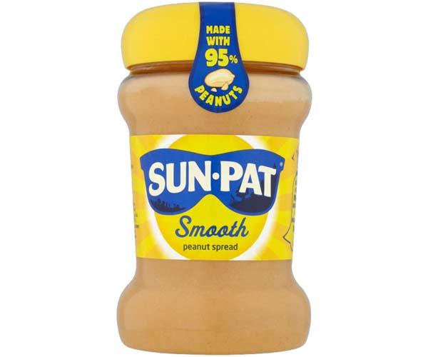 Sun Pat - Original Smooth Peanut Butter - 6x300g