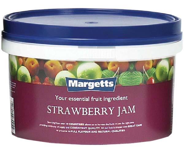 Margetts - Strawberry Jam - 1x3kg