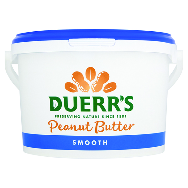 Duerrs - Smooth Peanut Butter - 1x2.5kg