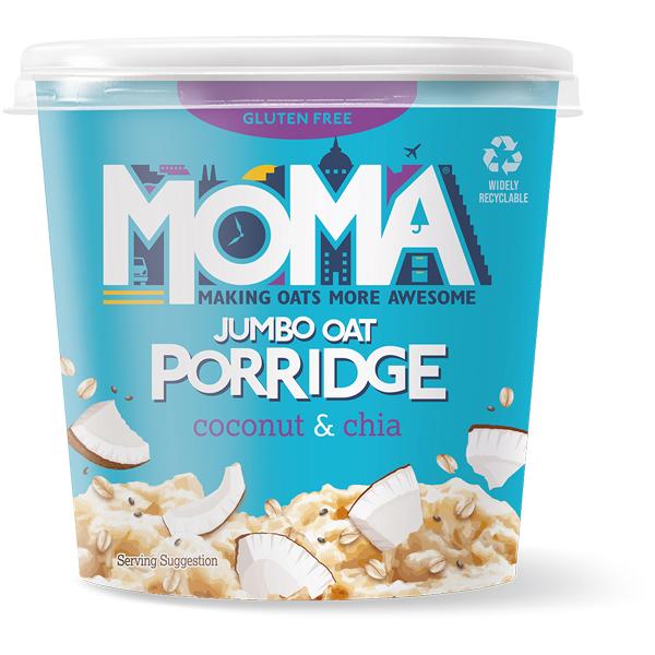 Moma Porridge - Coconut & Chia - 12x60g