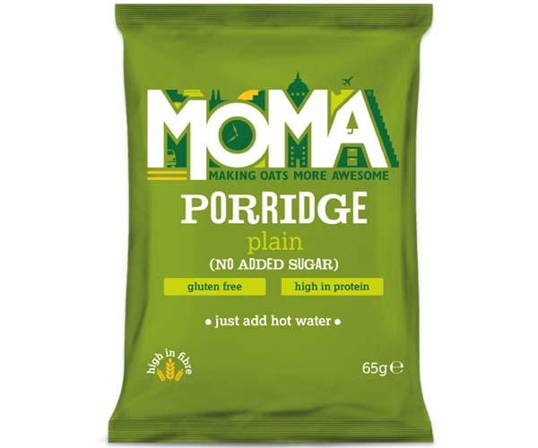 Moma Porridge Sachets - Plain No Sugar - 2x15x65g