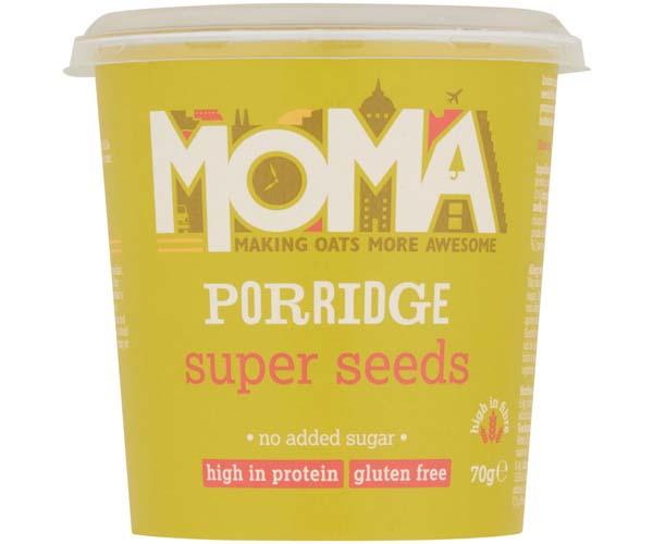 Moma Porridge - Super Seeds - 12x70g