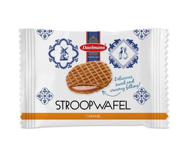 Mini Caramel Stroopwafels - 1x200