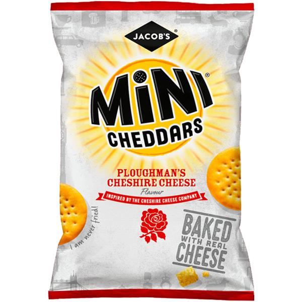 Mini Cheddars - Ploughmans Pickle - Grab Bag - 30x50g