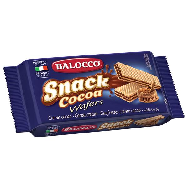 Balocco Wafers - Chocolate (Cacao) - 30x45g