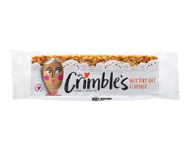 Mrs Crimbles - Buttery Oat Flapjack - 18x65g