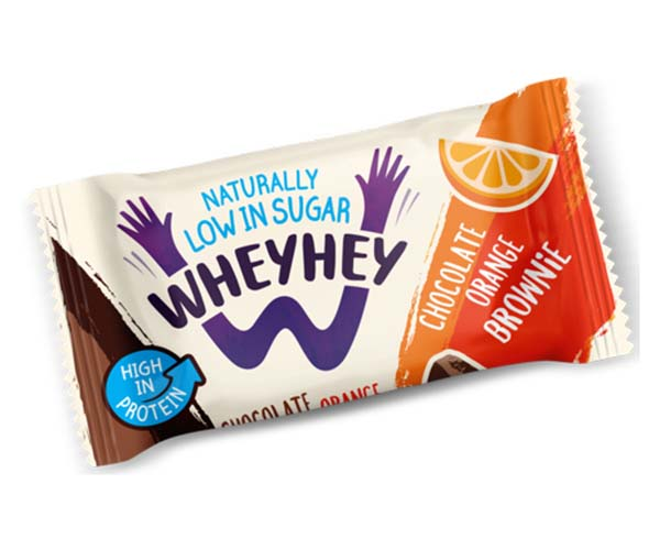 Wheyhey Brownie - Chocolate Orange - 15x40g