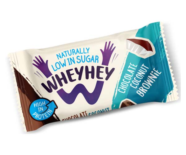 Wheyhey Brownie - Chocolate Coconut - 15x40g