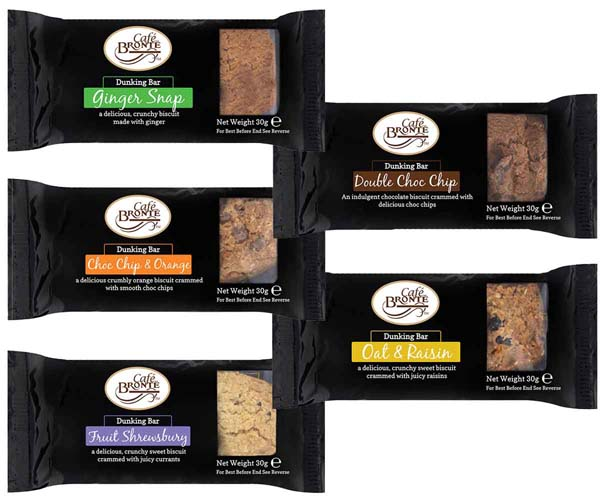 Bronte - Black Dunkers Assortment - 150x30g (5 Flavours)