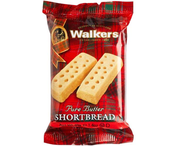 Walkers - Shortbread Fingers - 24x40g