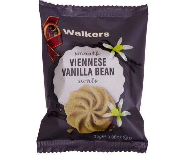 Walkers - Viennese Vanilla Bean Swirls - 100x25g