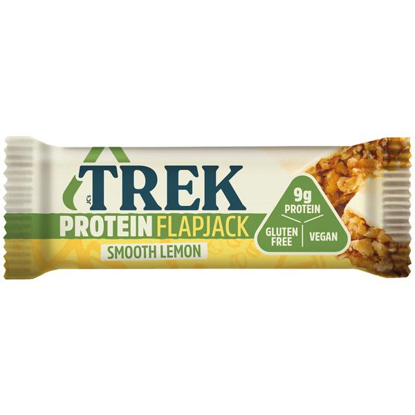 Trek Protein Flapjack - Smooth Lemon - 16x50g