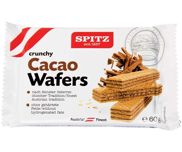 Spitz Vienna Chocolate Wafers - 18x60g