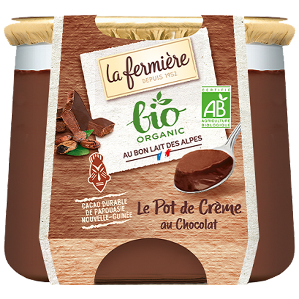 La Fermiere - Chocolate Creamy Dessert - 6x125g