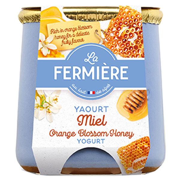 La Fermiere - Honey Yoghurt - 6x140g