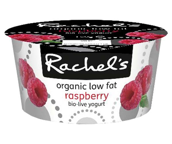 Rachels - Organic Luscious Raspberry Yoghurt - 6x150g