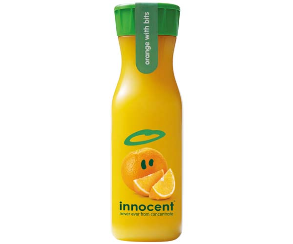 Innocent Juice - Orange With Bits - 8x330ml