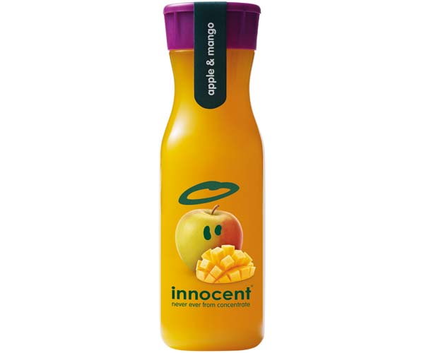 Innocent - Apple & Mango Juice Blend - 8x330ml