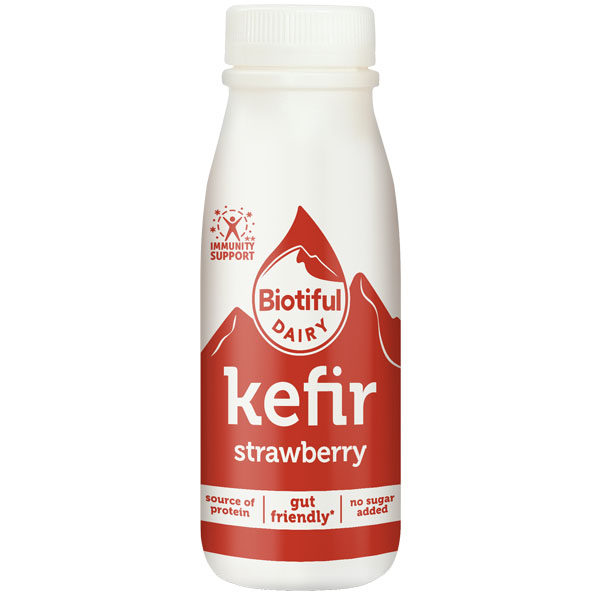 Biotiful - Kefir Strawberry - 6x250ml