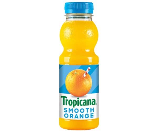 Tropicana Juice - Smooth Orange - 8x250ml