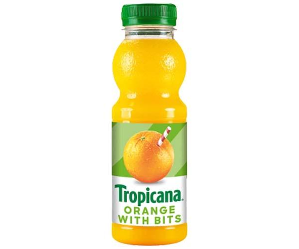 Tropicana Juice - Orange With Bits - 8x250ml